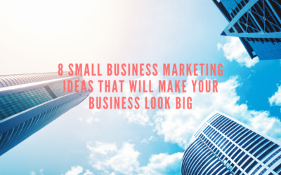 8 Small Business Marketing Ideas That Will Make Your Business Look Big