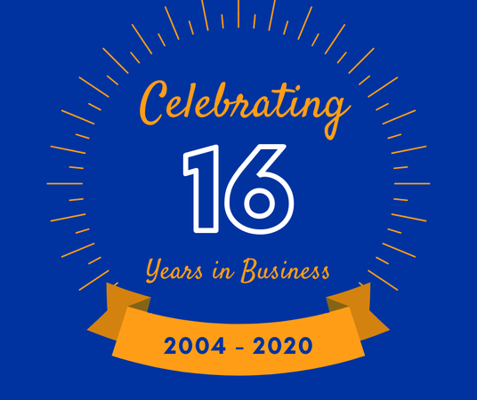 Celebrating 16 years of service for Allstate Insurance
