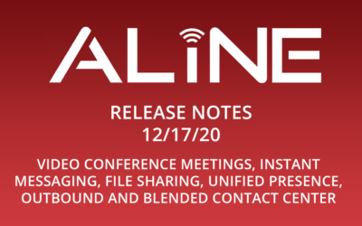 Aline Phone Systems Version 6.0 Release Notes