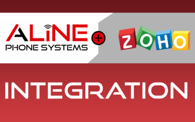 Aline Phone Systems Launches Integration with Zoho