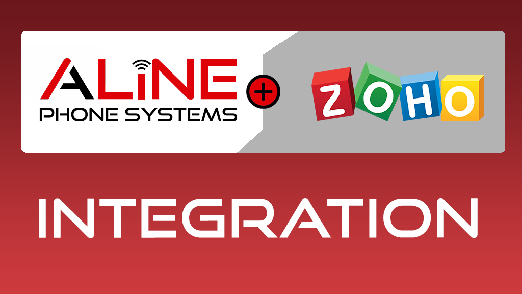 Zoho integration with Aline