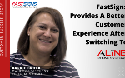 FastSigns Provides A Better Customer Experience With Aline