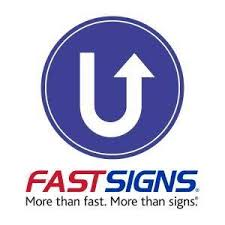 Fast Signs logo with their tag line under them