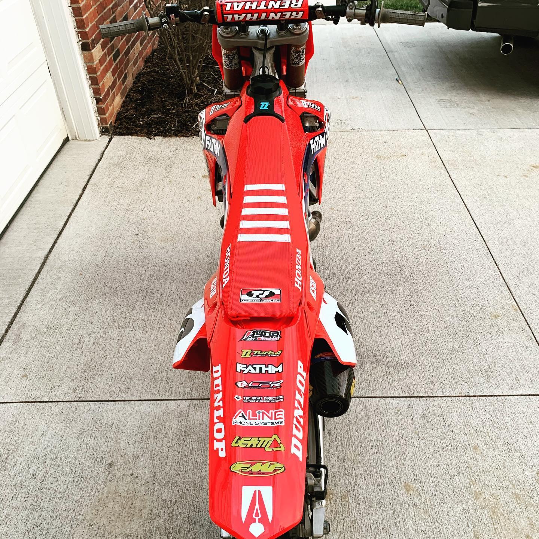 Kurt Shroyer Dirt Bike