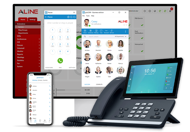 Aline Phone Systems on ANY Device